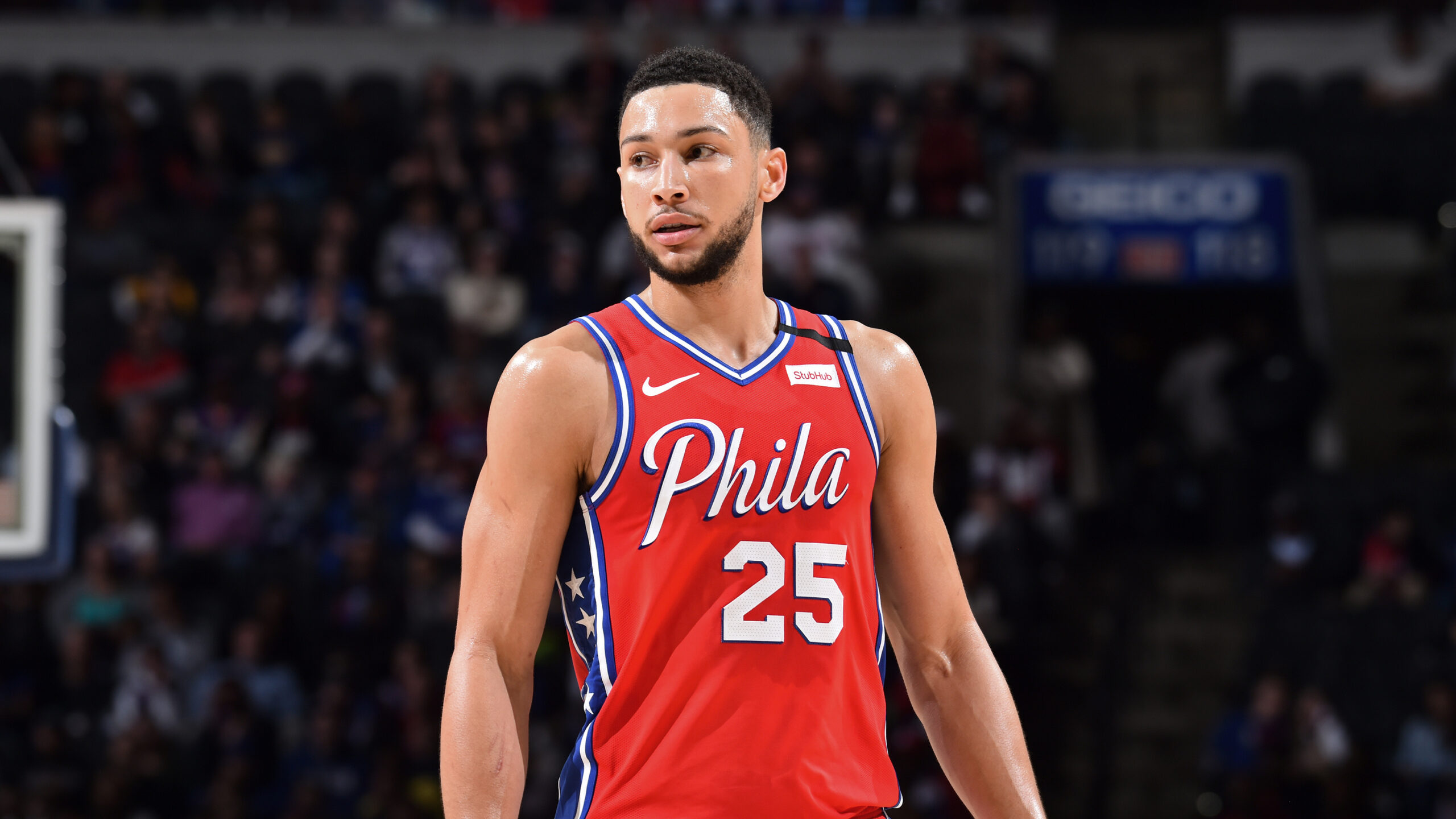 Ben Simmons (back) to miss game vs. Hawks