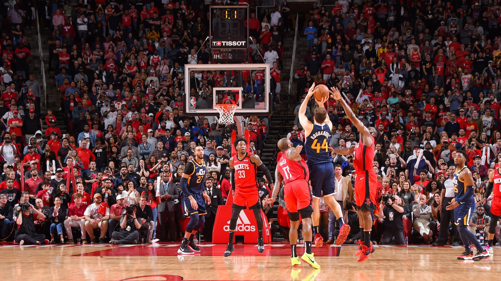 Horry Scale: Bojan Bogdanovic's deep 3-pointer stuns Rockets