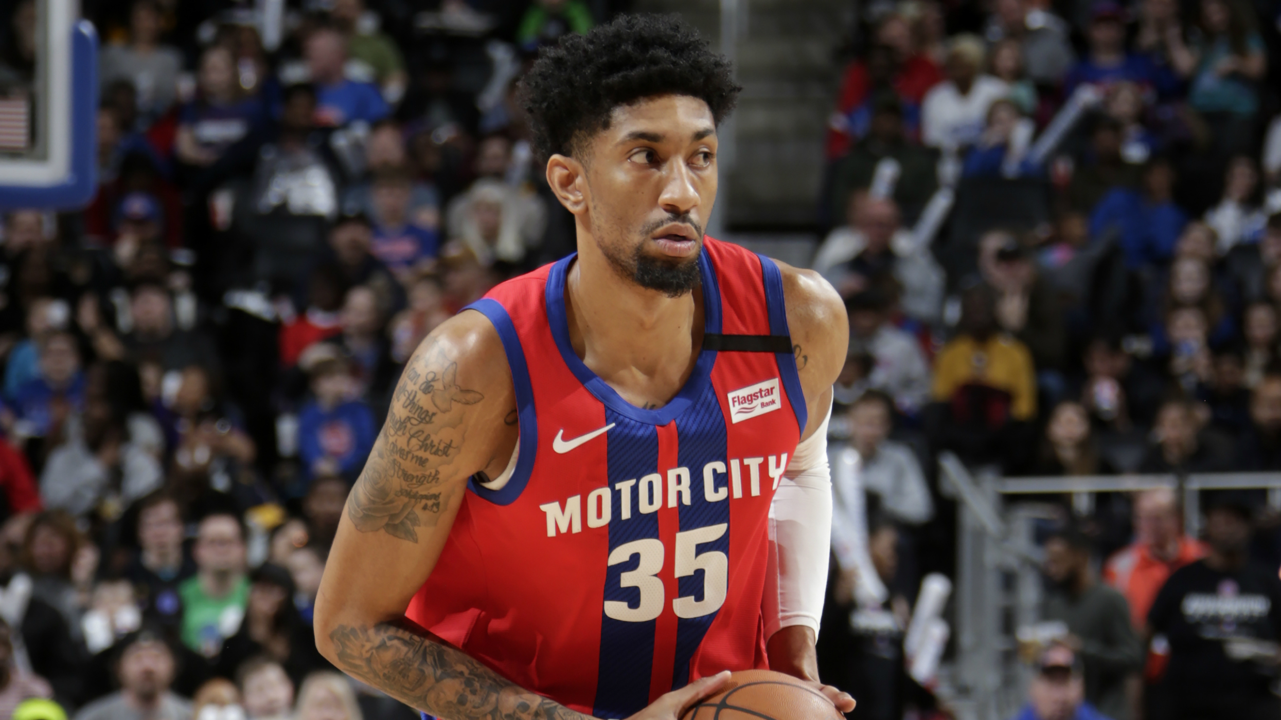Reports: Christian Wood headed to Rockets in sign-and-trade