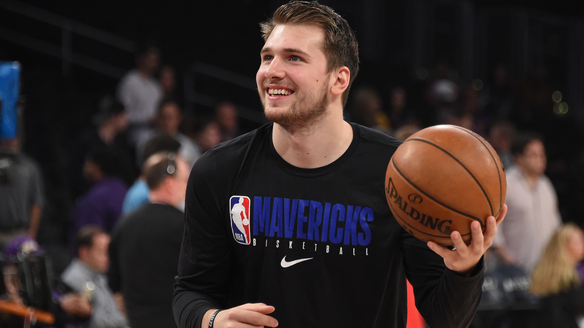 Luka Doncic says he's 'ready to play' after missing 7 games with ankle sprain