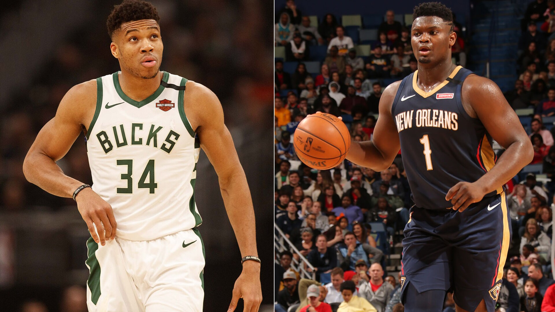 5 Can't-Miss Matchups: Giannis Antetokounmpo vs. Zion Williamson