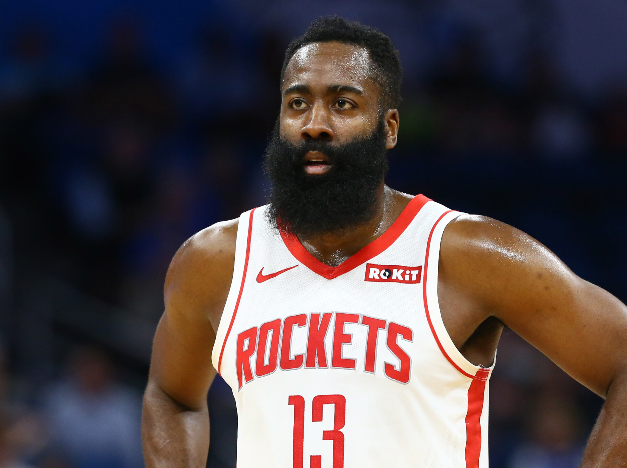 James Harden out against Nuggets with thigh bruise