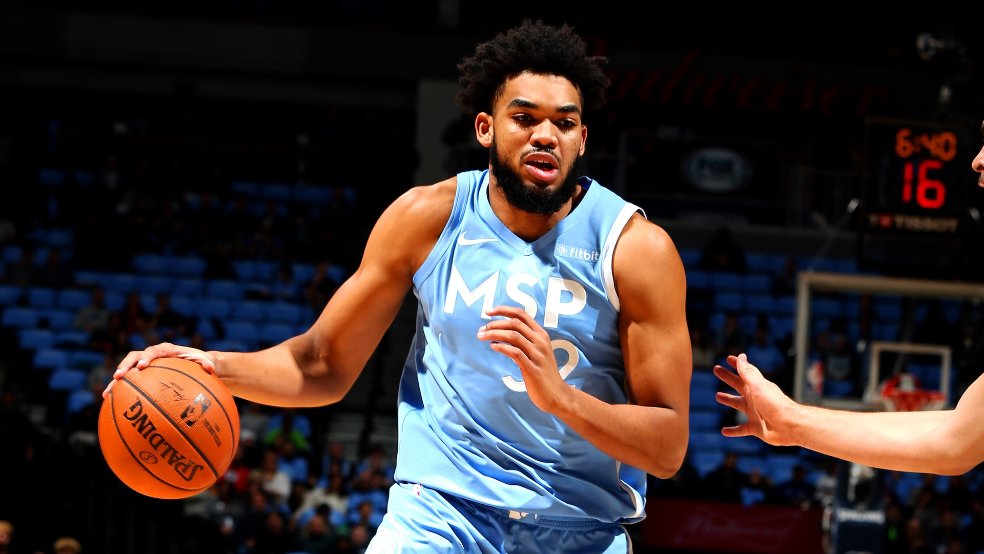 Towns out at least 2 weeks with fractured wrist