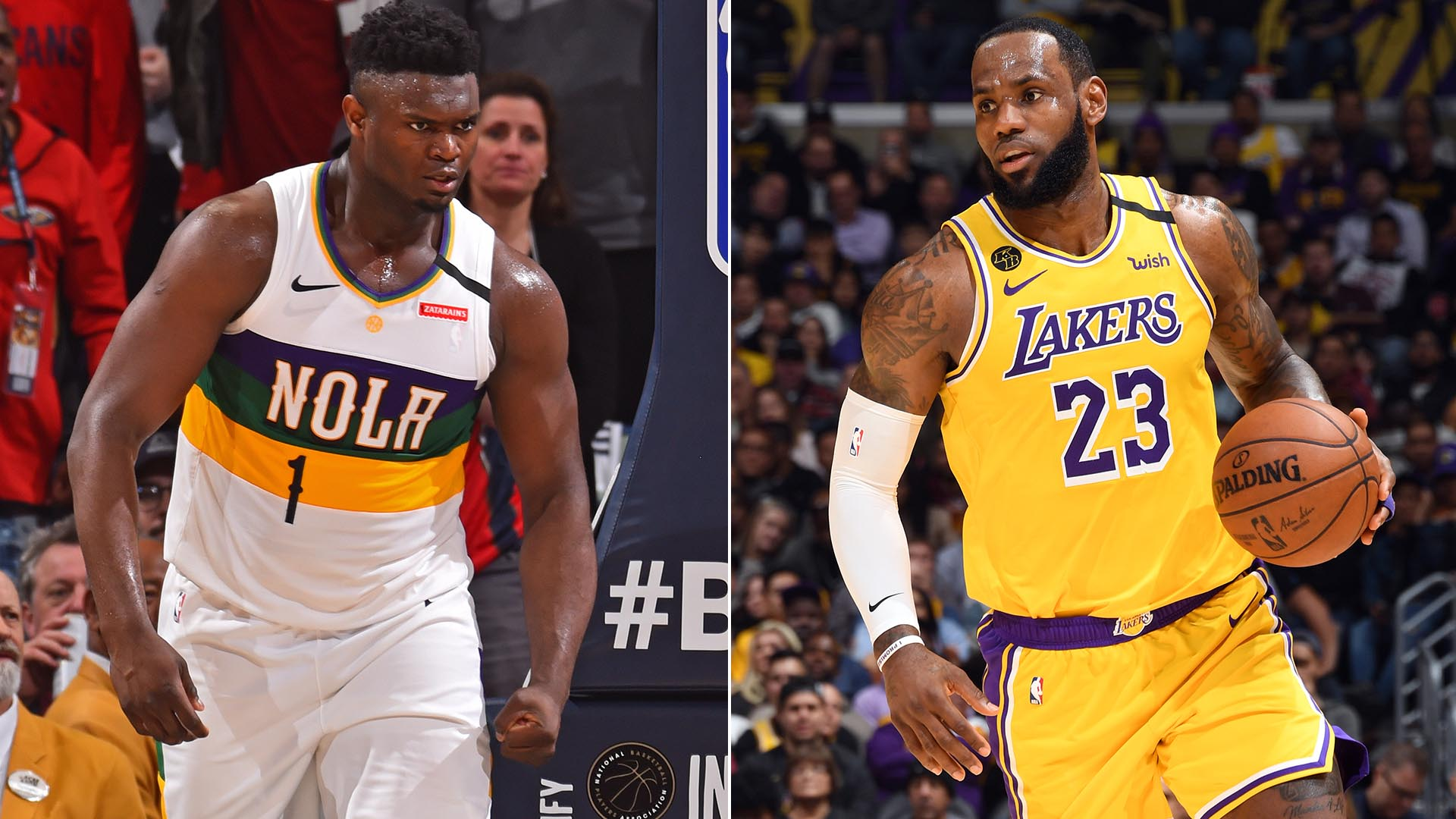 5 Can't-Miss Matchups: LeBron James vs. Zion Williamson