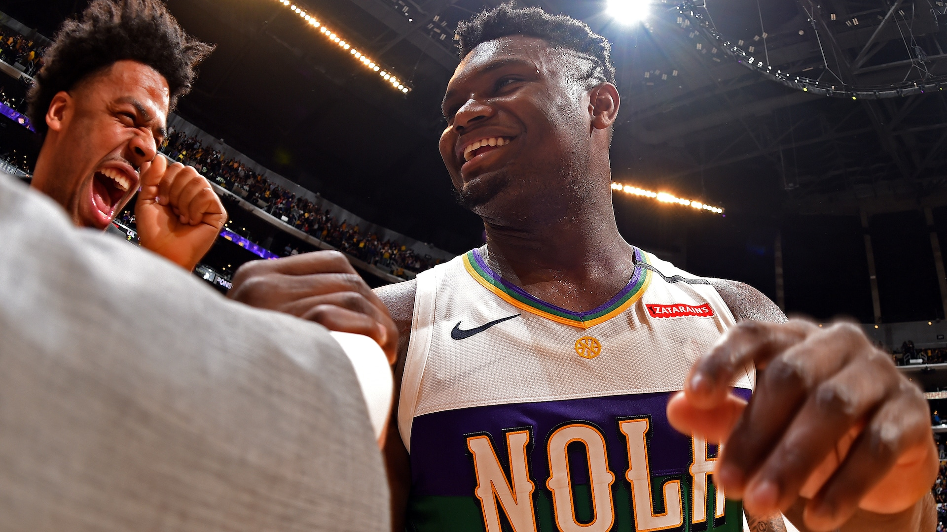 Zion Williamson has arrived and the Pelicans have surged ... How high will they rise?
