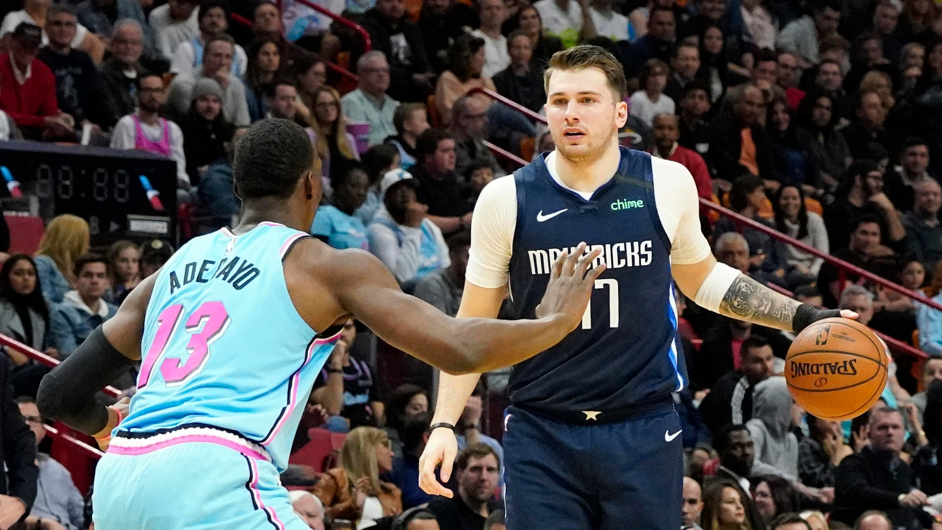 Doncic out Sunday vs. Wolves, could miss Monday vs. Bulls