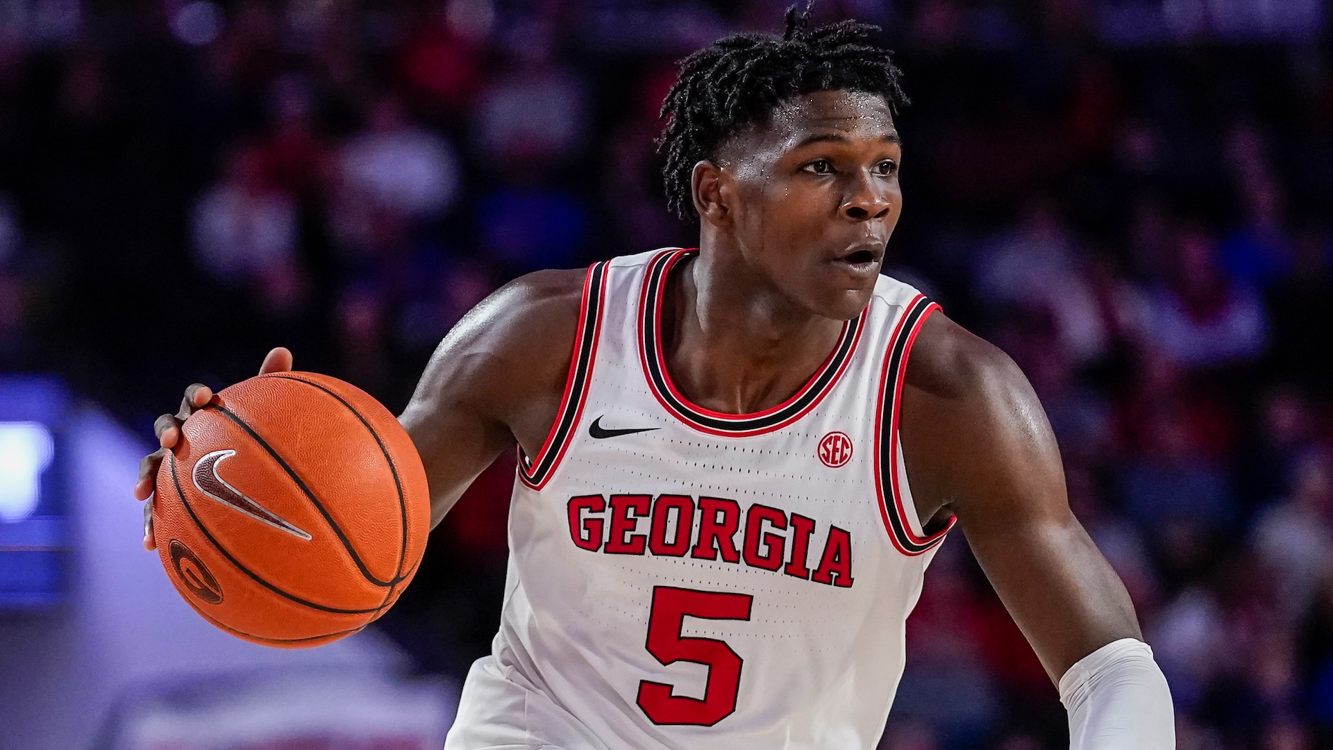 Georgia's Anthony Edwards armed with NBA athleticism, NBA strength