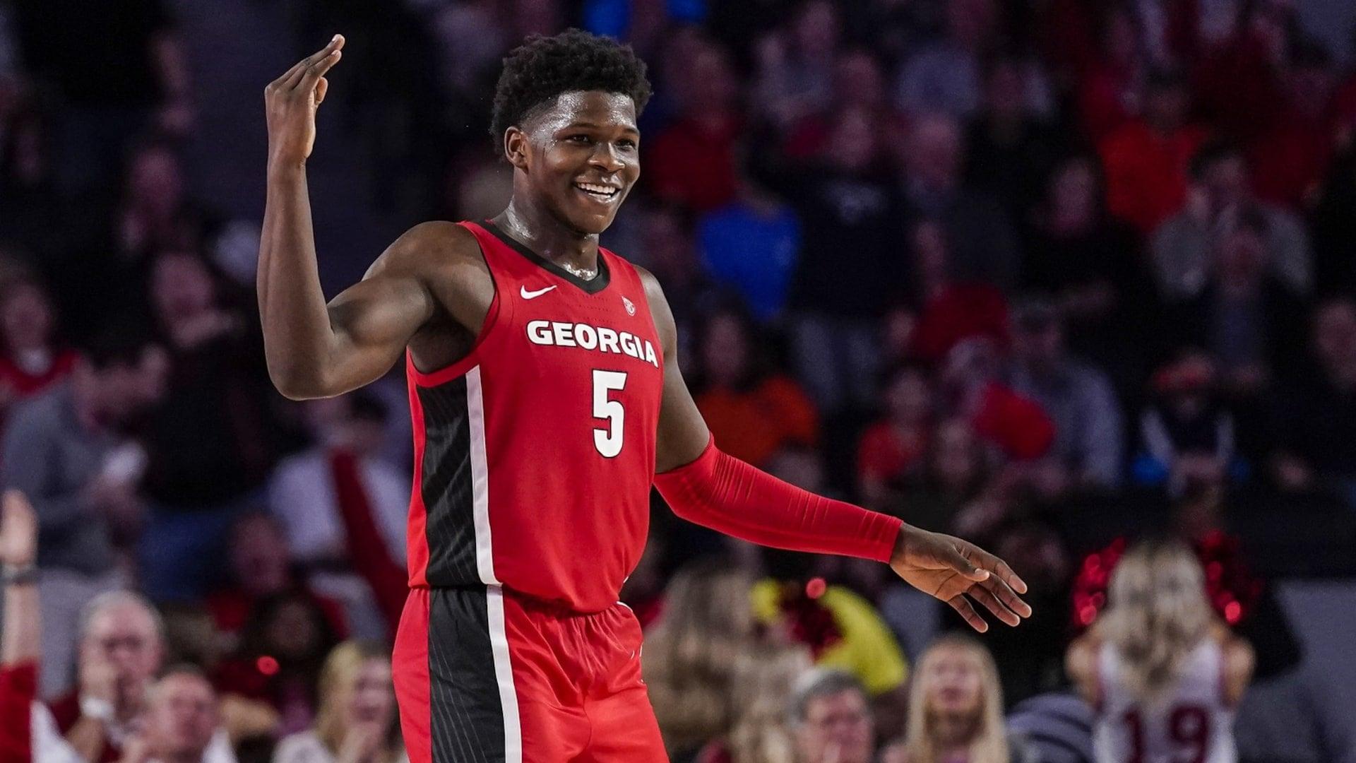 Georgia freshman Anthony Edwards announces plans to enter NBA Draft