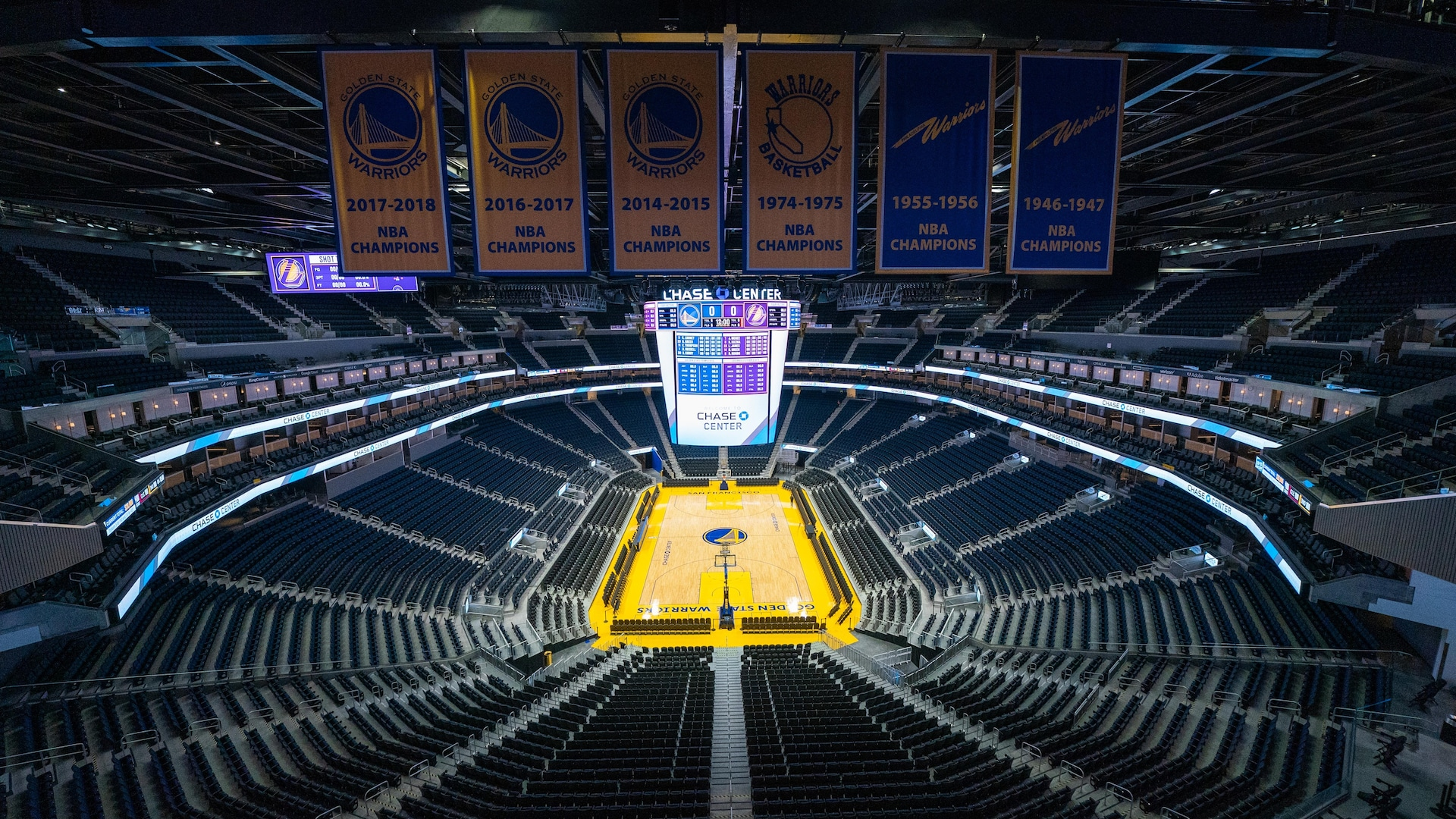 Warriors statement on Chase Center events