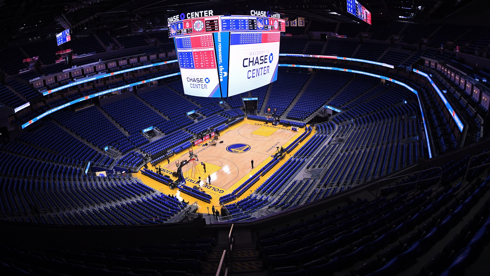 Warriors to play without fans against Nets on Thursday