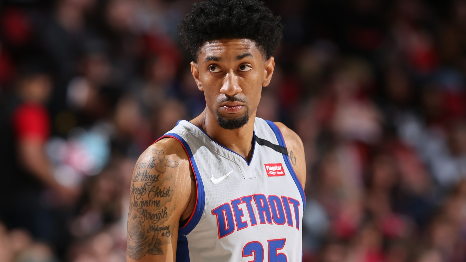 Report: Pistons' Christian Wood showing signs of full recovery