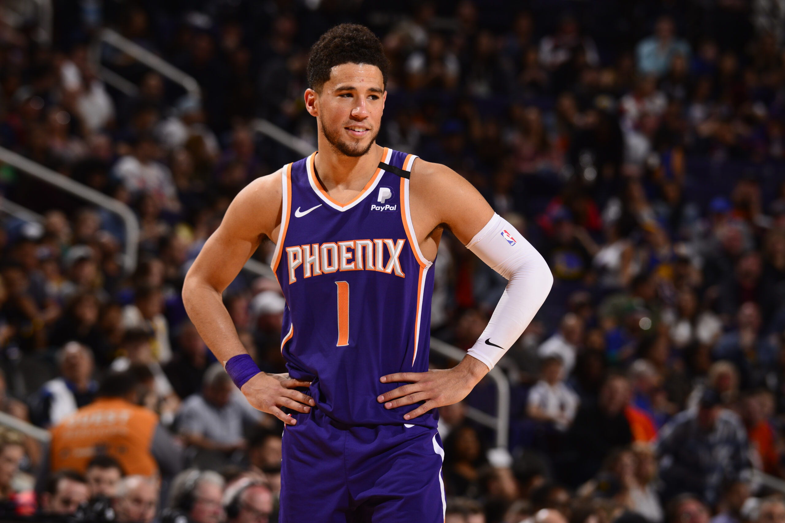 Devin Booker tips off Twitch fundraising campaign with $100,000 donation in support of COVID-19 relief efforts