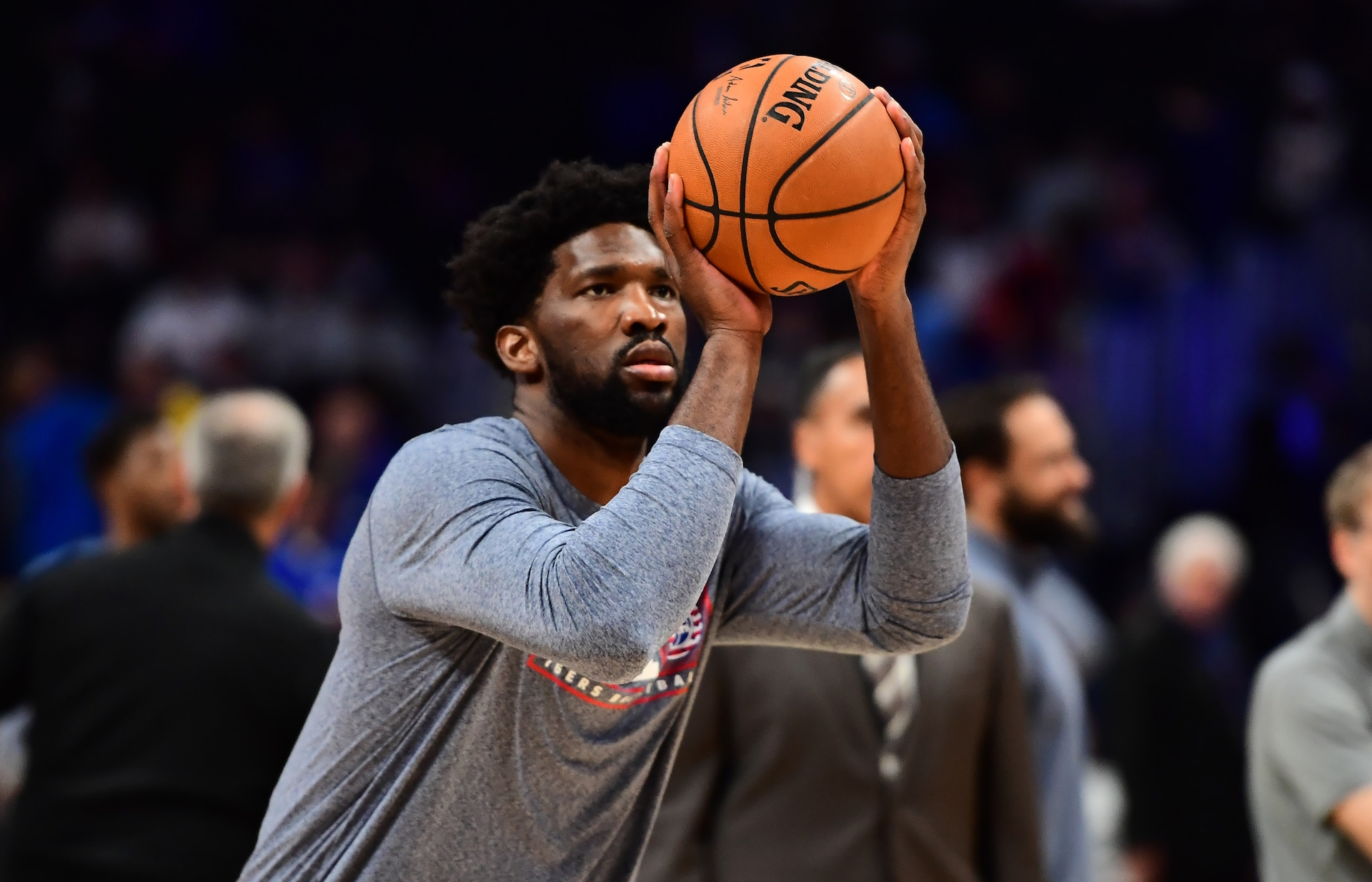 Joel Embiid, Josh Richardson return to Sixers' practice