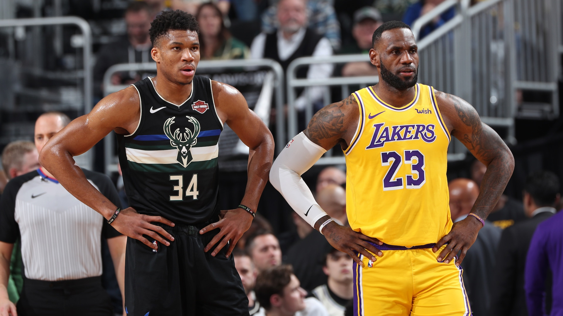 LeBron ready to clash with biggest threats in Giannis, Kawhi