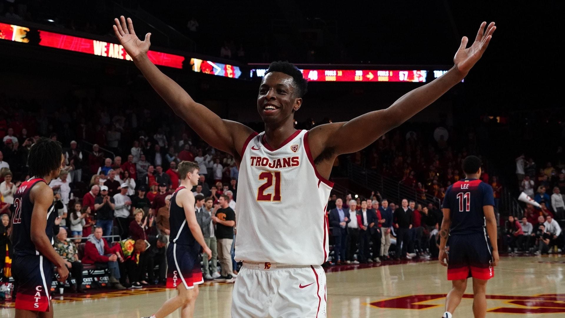 USC freshman Onyeka Okongwu declares for NBA Draft