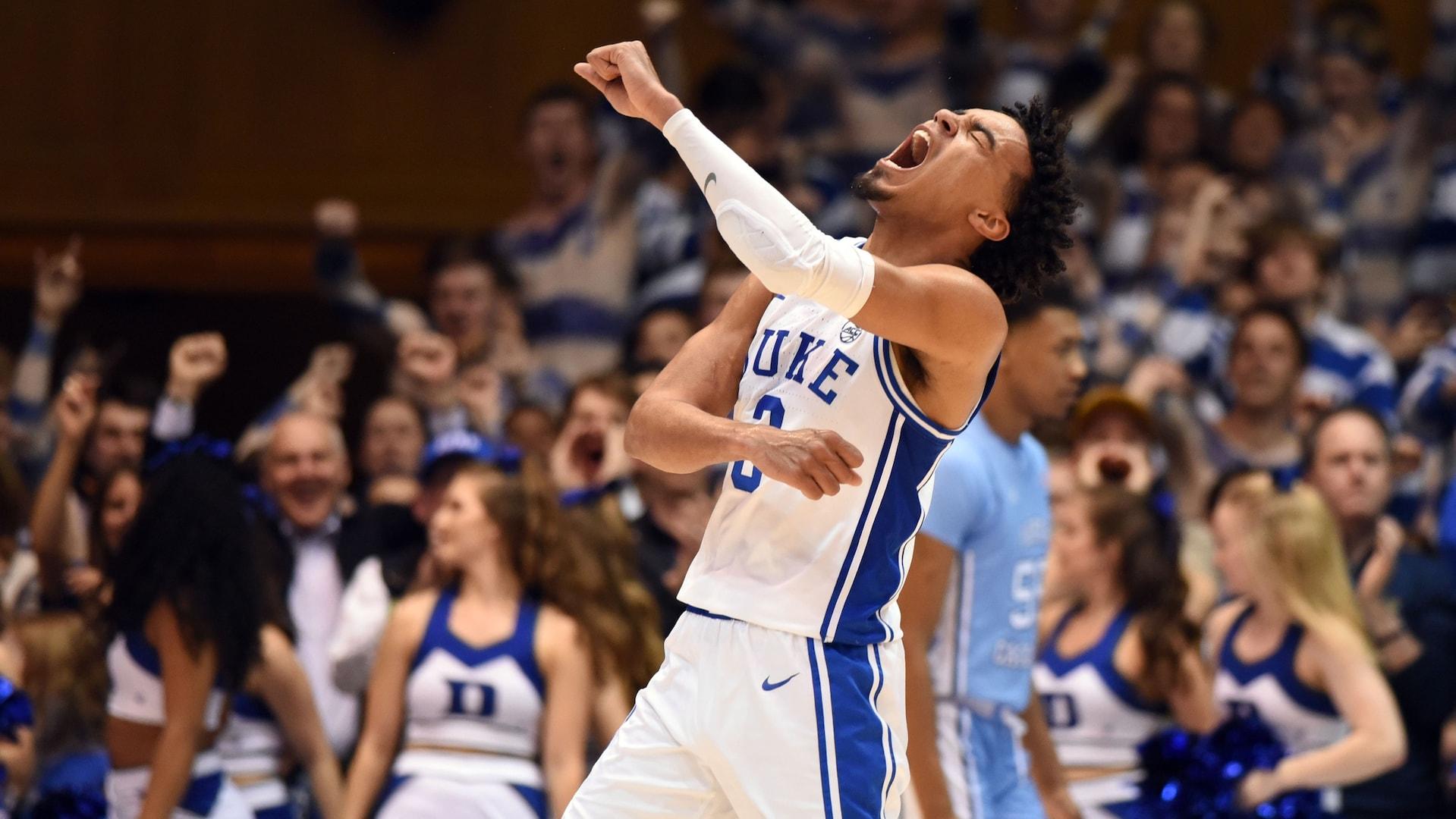 Duke sophomore point guard Tre Jones declares for NBA draft