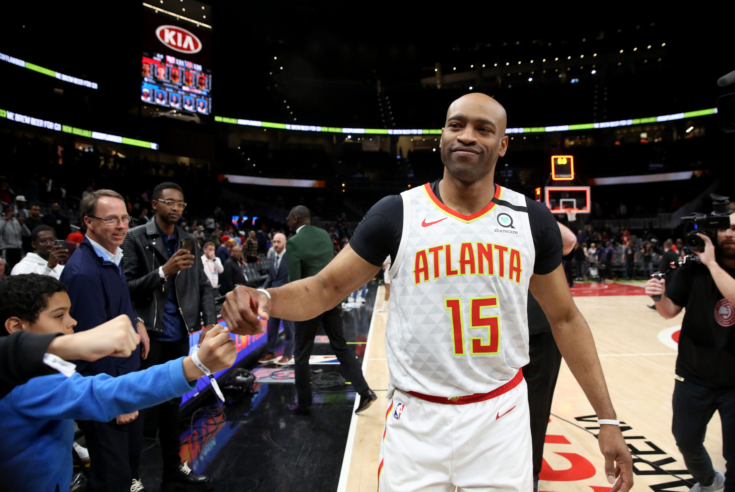 Vince Carter at peace if he played in his final NBA game