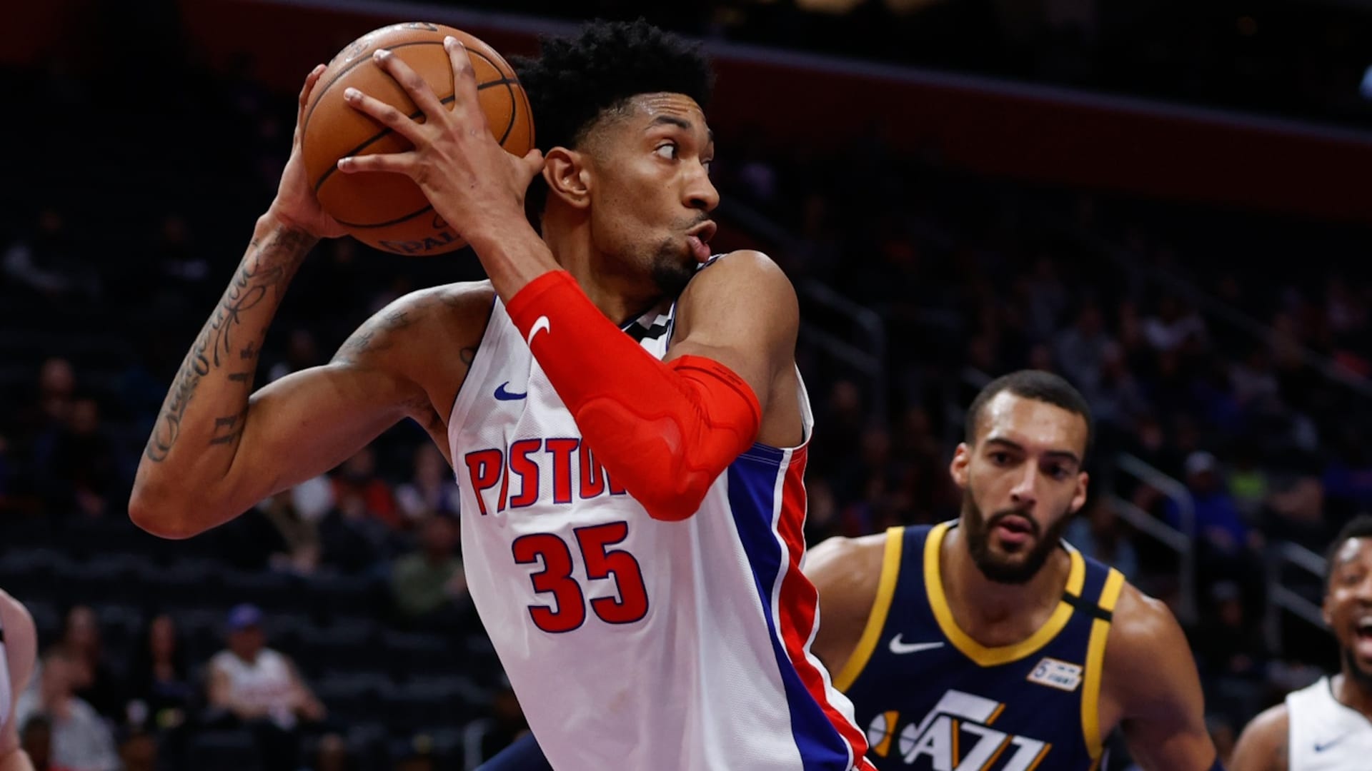 Reports: Pistons' Christian Wood tests positive for virus