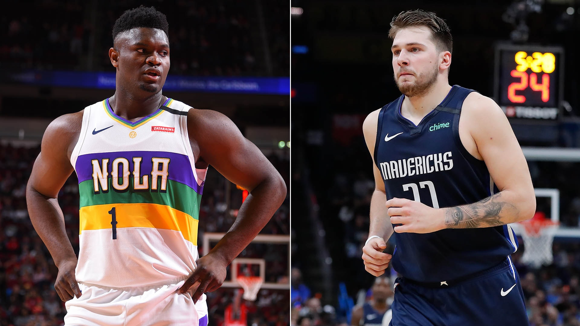 5 Can't-Miss Matchups: Zion Williamson vs. Luka Doncic