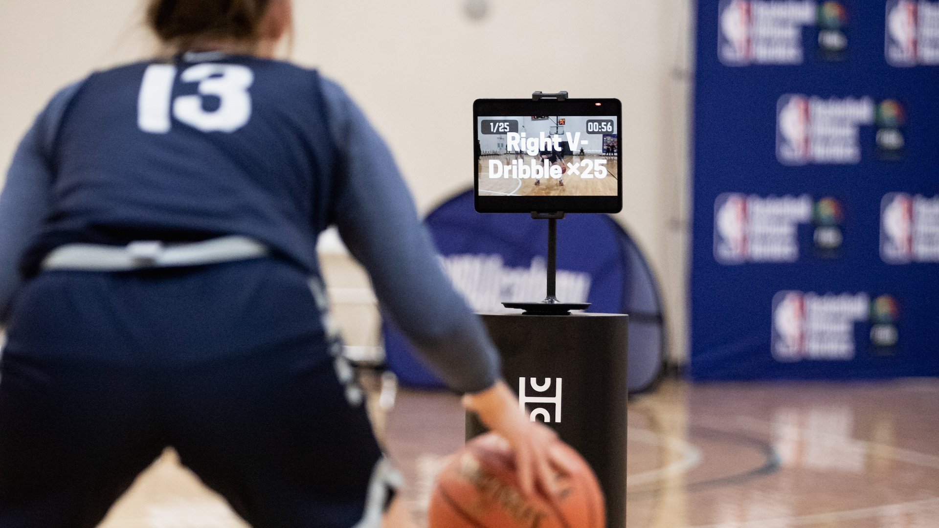 NBA and WNBA scouting goes high tech
