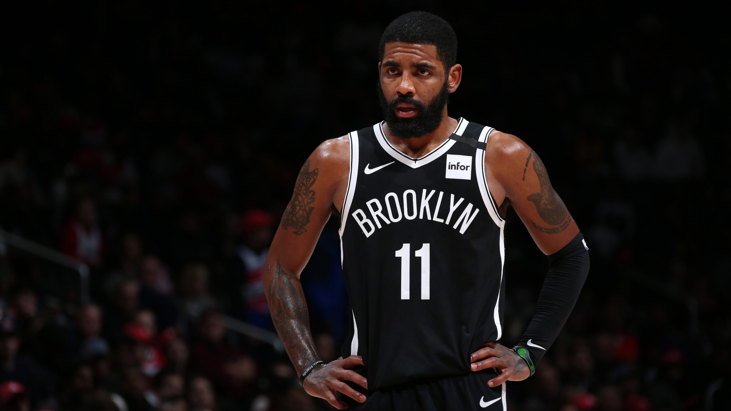 Nets guard Kyrie Irving undergoes successful shoulder surgery
