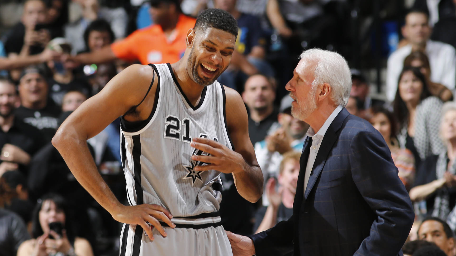 Gregg Popovich misses game to attend Tim Duncan's Hall enshrinement