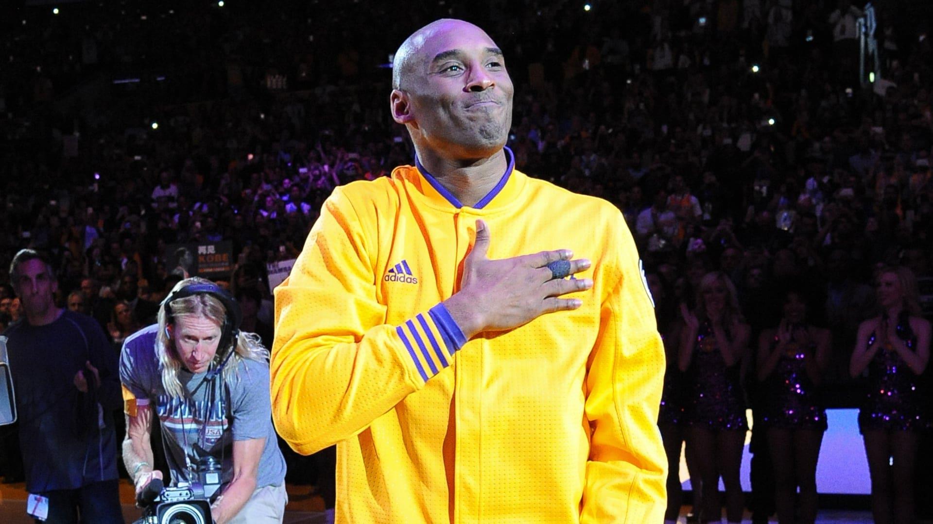 Kobe Bryant's final NBA season reportedly had 'unprecedented' access to camera crew