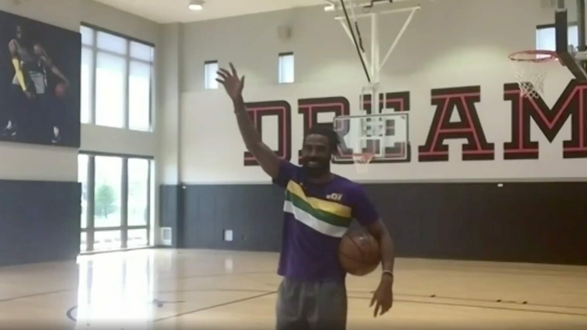Jazz guard Mike Conley Jr. wins NBA HORSE Challenge