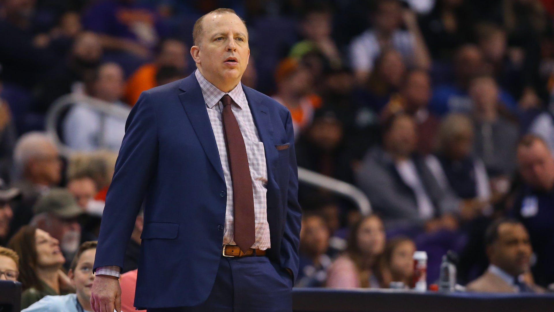 Report: Knicks have Tom Thibodeau as top candidate for next coach