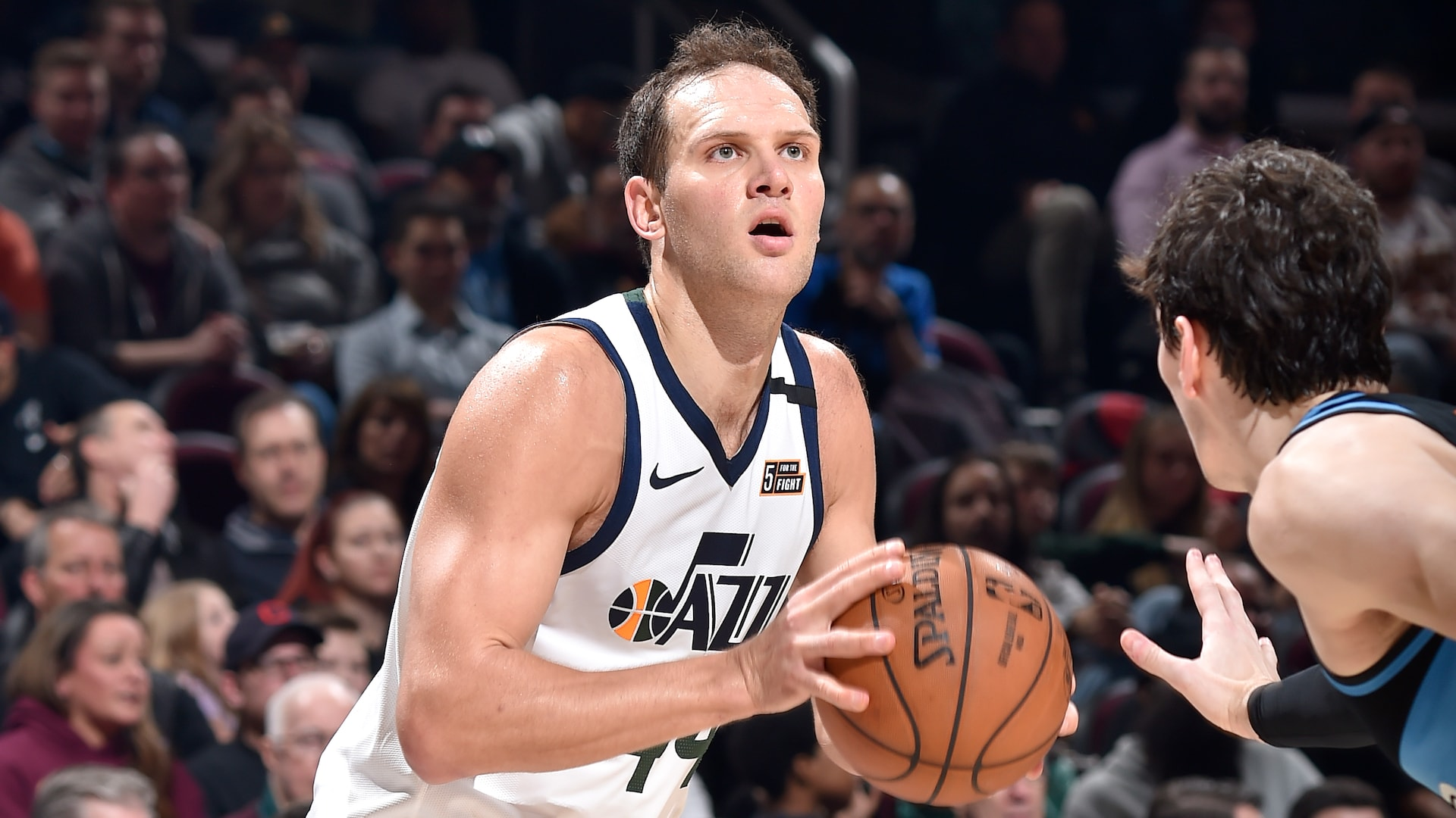 Jazz forward Bojan Bogdanovic (wrist) out for season