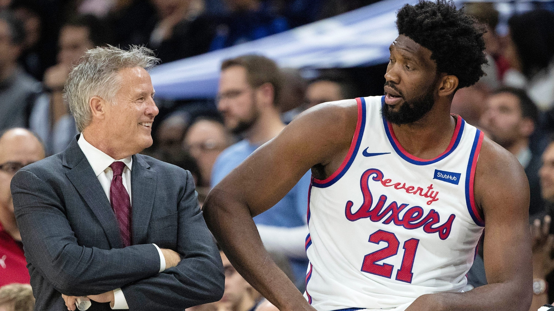 Sixers coach Brett Brown feels his process 'incomplete'