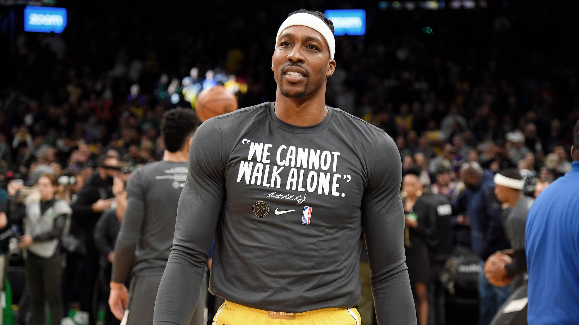 Dwight Howard healing after death of son's mother
