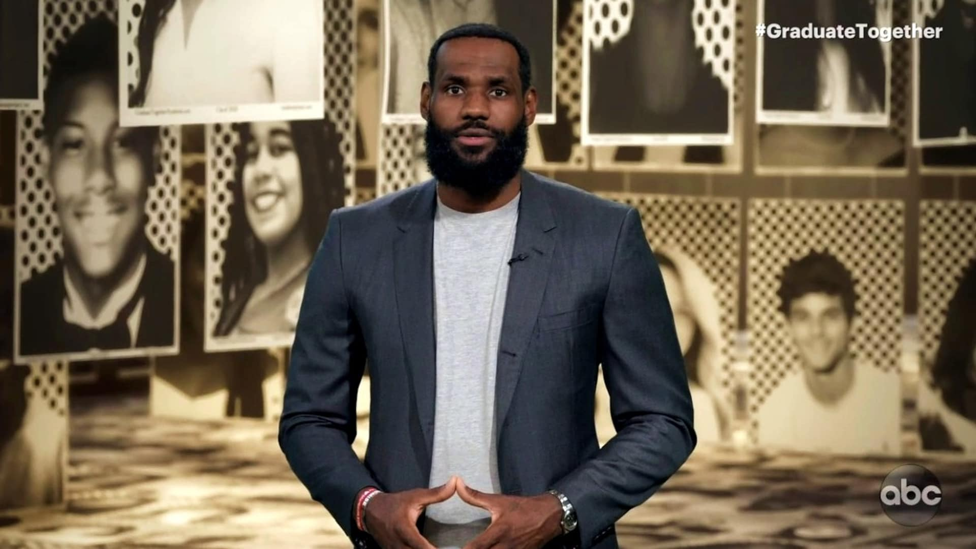LeBron James hosts 'Graduate Together' event for class of 2020
