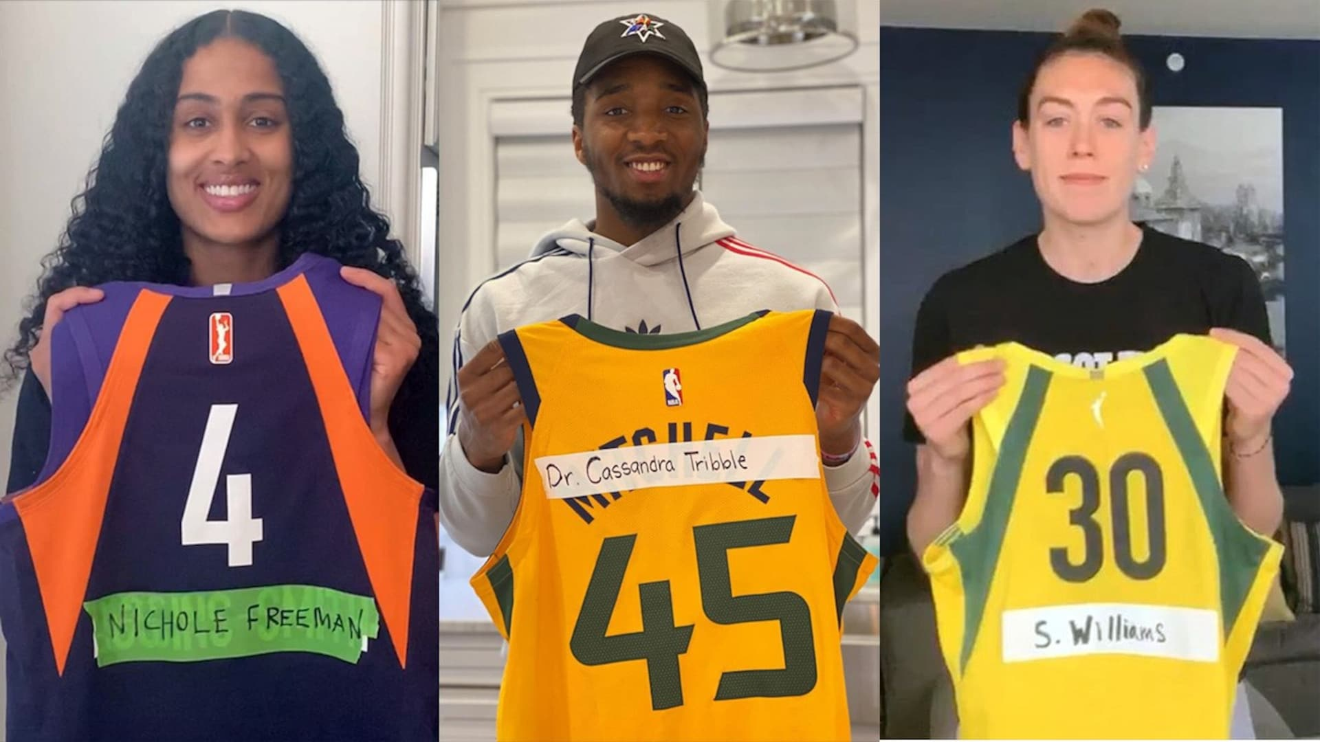 NBA, WNBA players join 'The Real Heroes Project' to honor healthcare workers