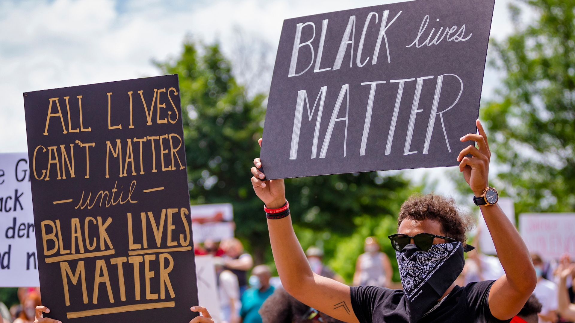 NBA players attending protests across America