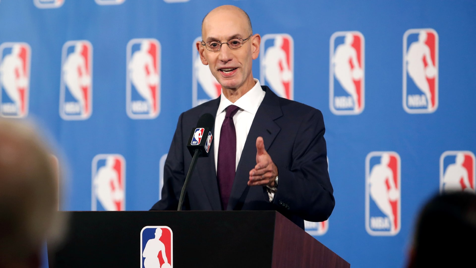 Commissioner Adam Silver confident all concerns can be met for NBA's return