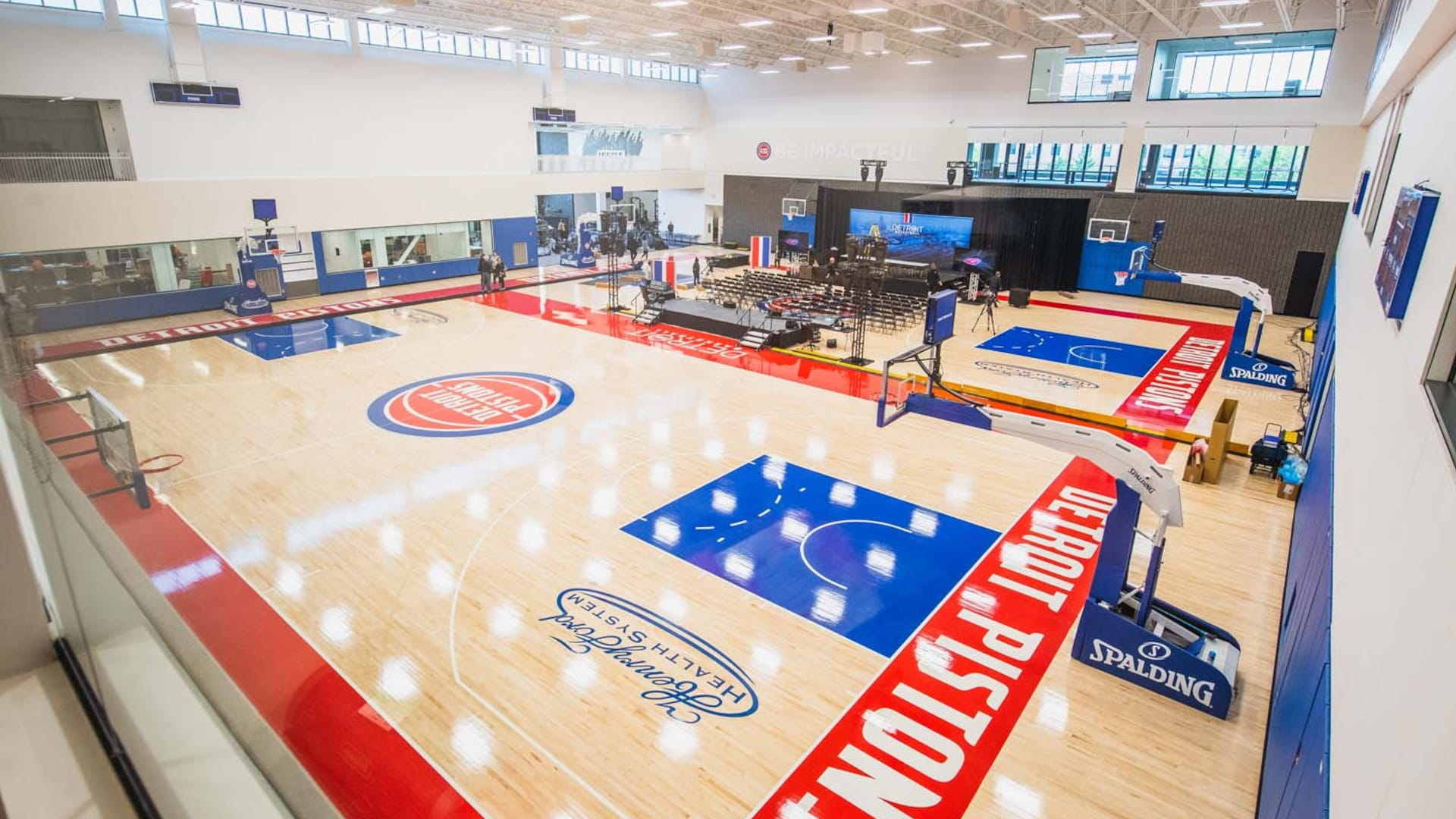 Detroit Pistons set to reopen practice facility