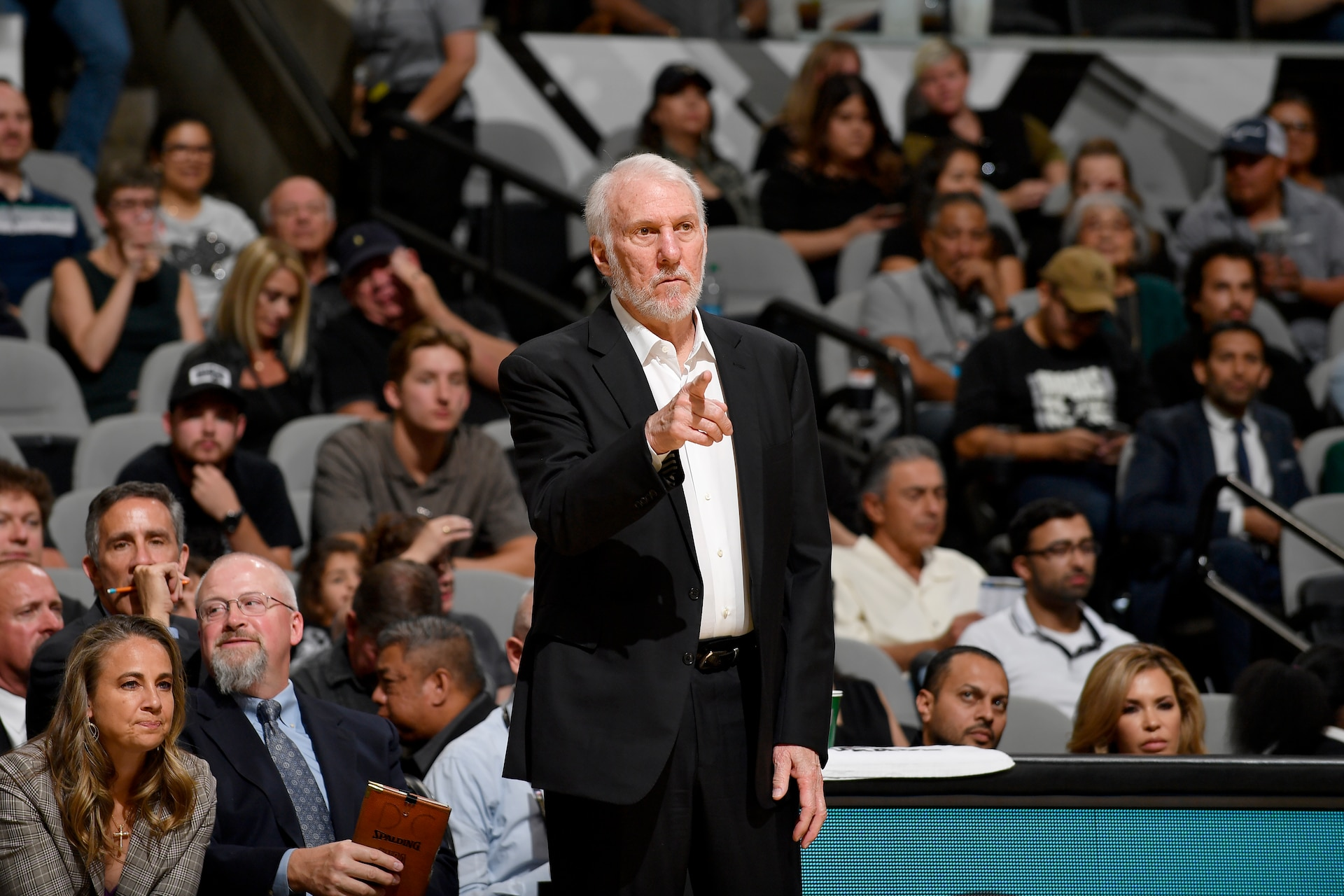 Gregg Popovich delivers stirring statement as Spurs focus on race