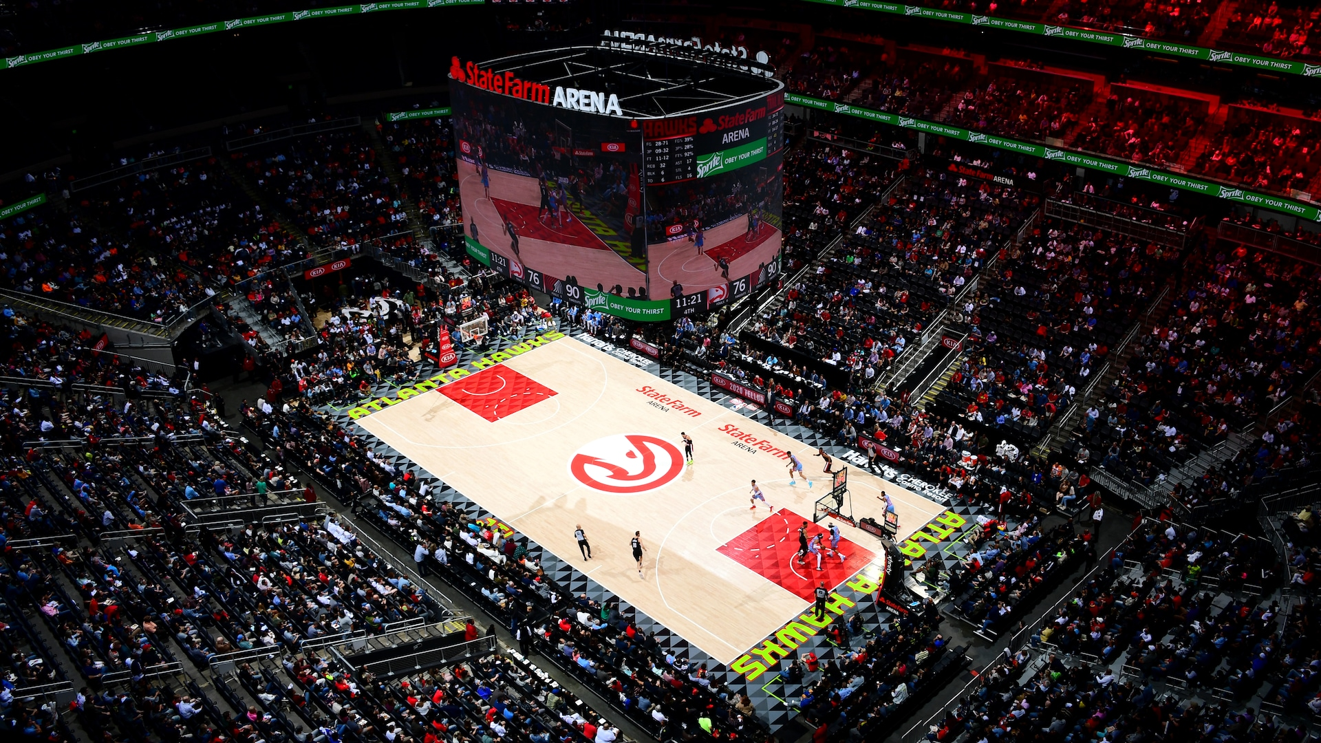 Hawks to open State Farm Arena as voting precinct for fall elections