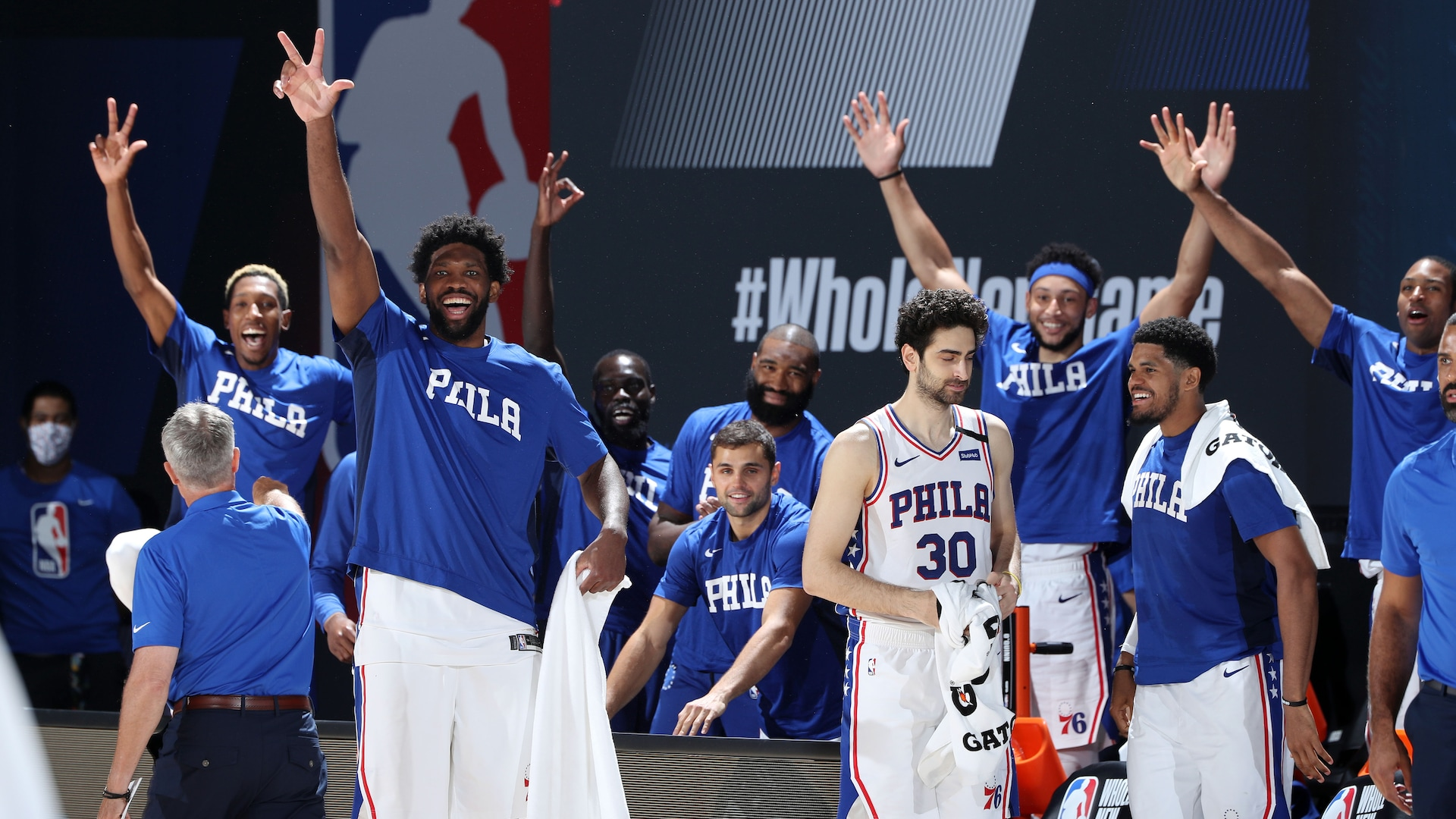 Bench energy real and loud at NBA restart