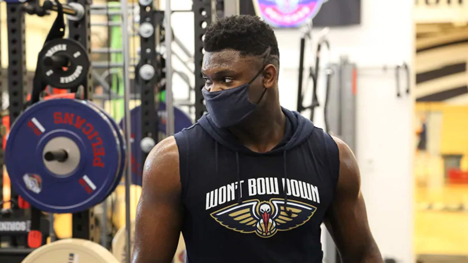 Pelicans' Zion Williamson is ready for the NBA's season restart