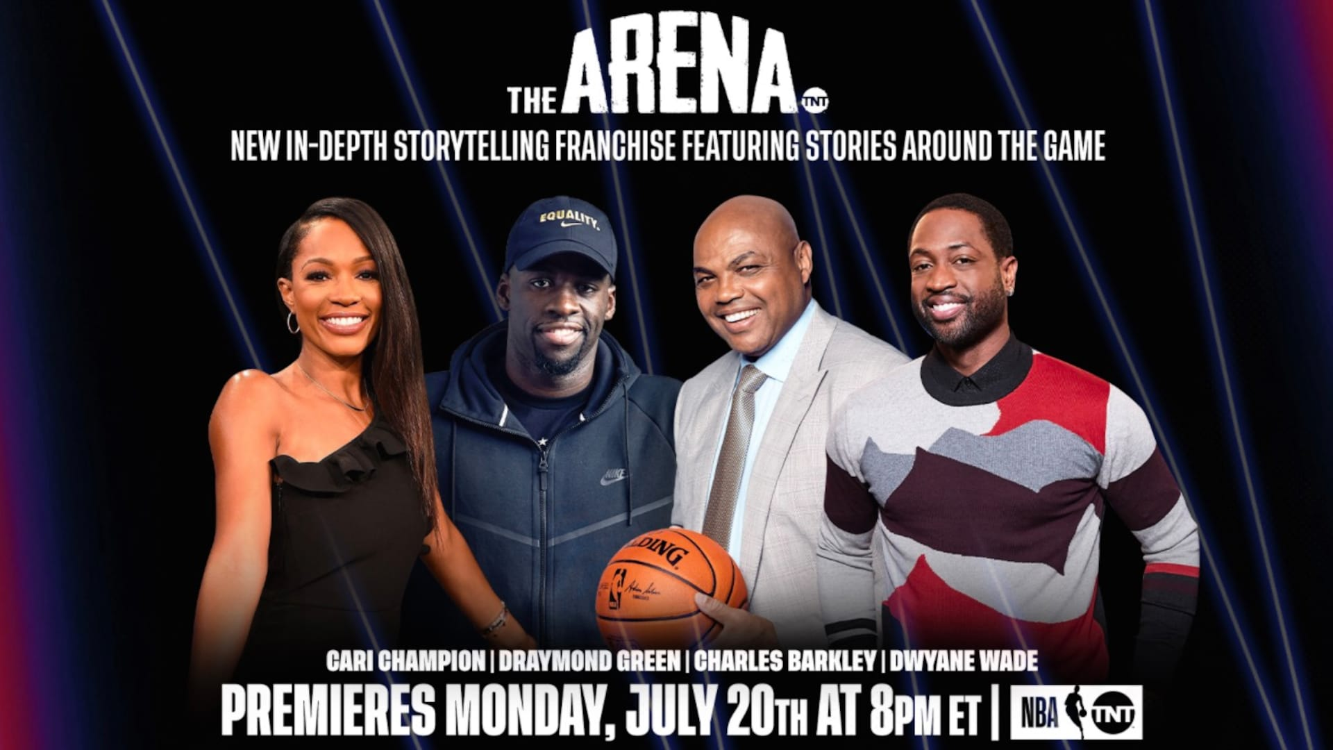Turner Sports announces debut of new storytelling show 'The Arena'