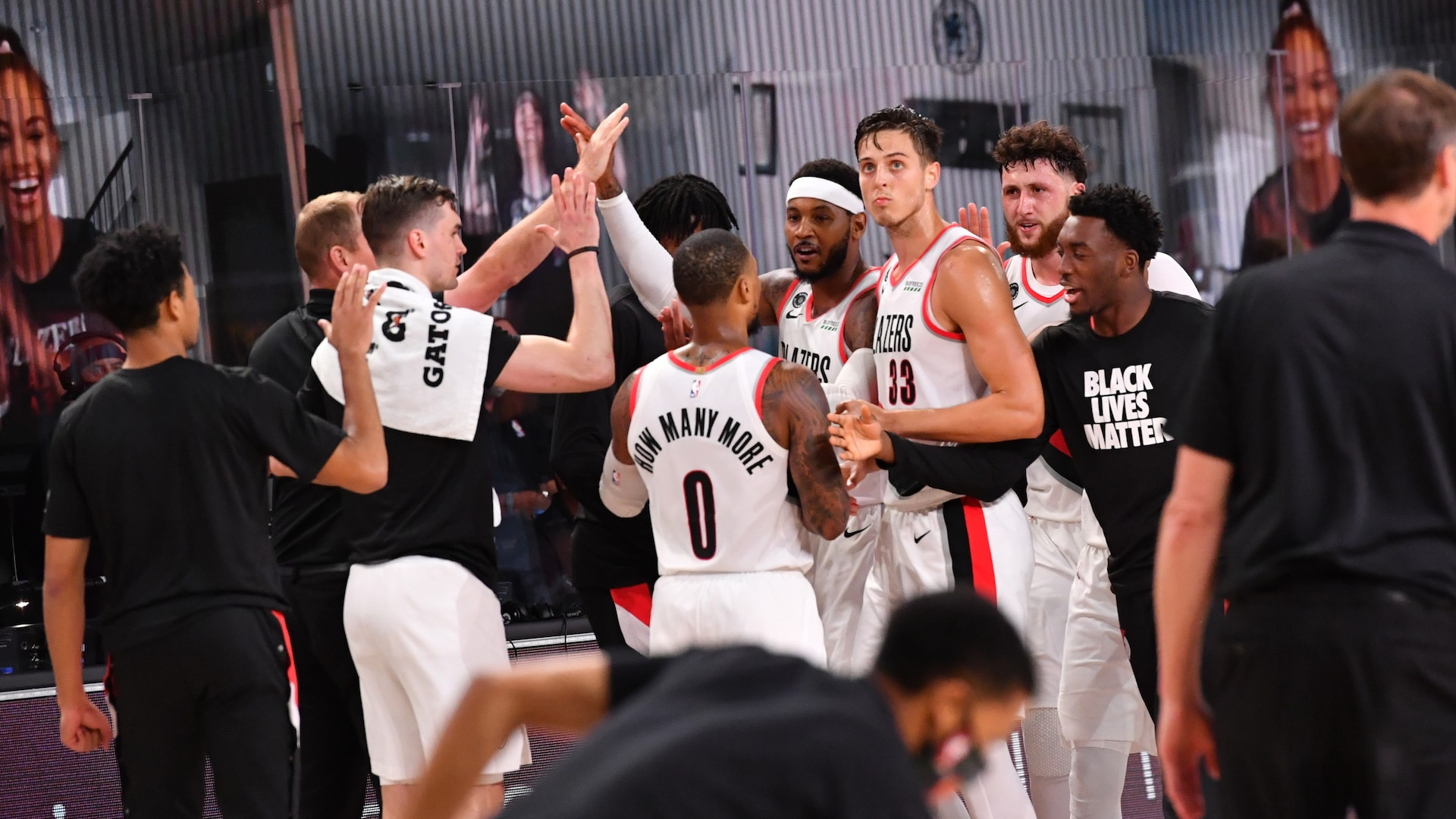 Race for eighth in West tightens after huge Blazers win