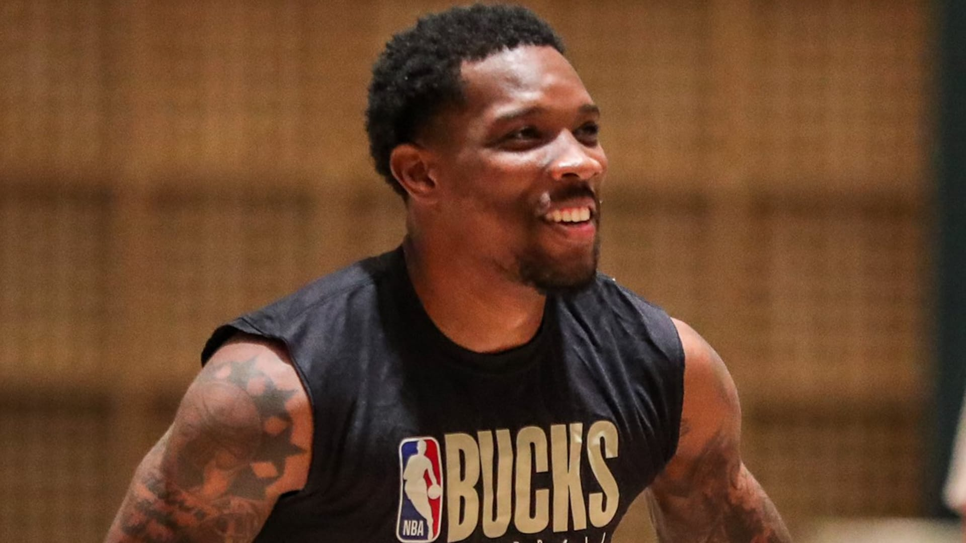 Eric Bledsoe practices with Bucks