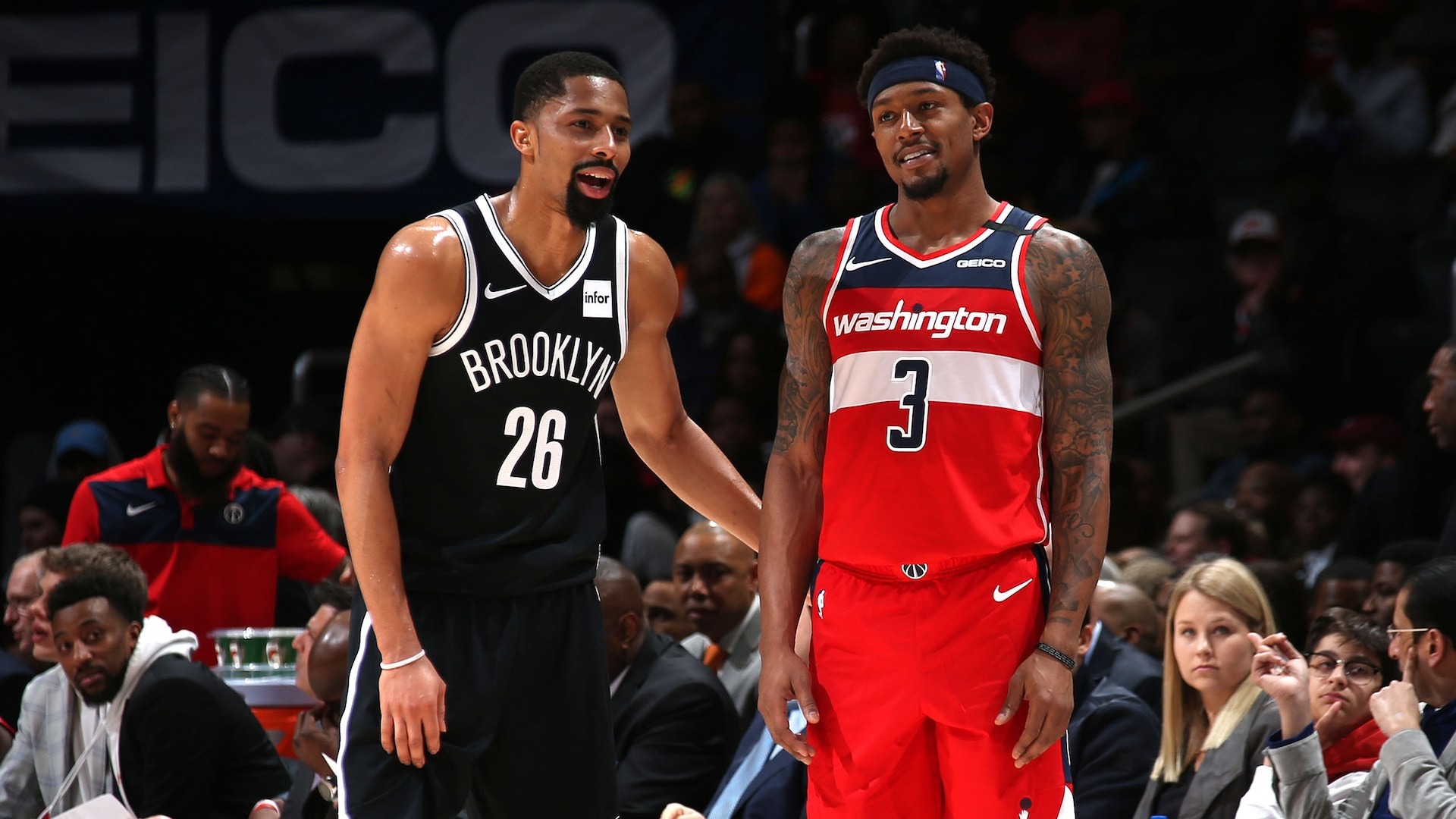 Wizards' Bradley Beal, Nets' Spencer Dinwiddie out for remainder of NBA season