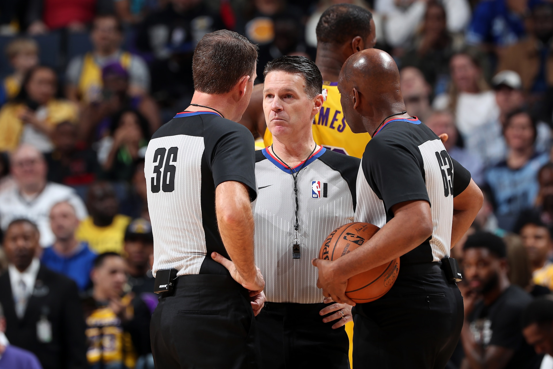 Referees gearing up for return to NBA games, too