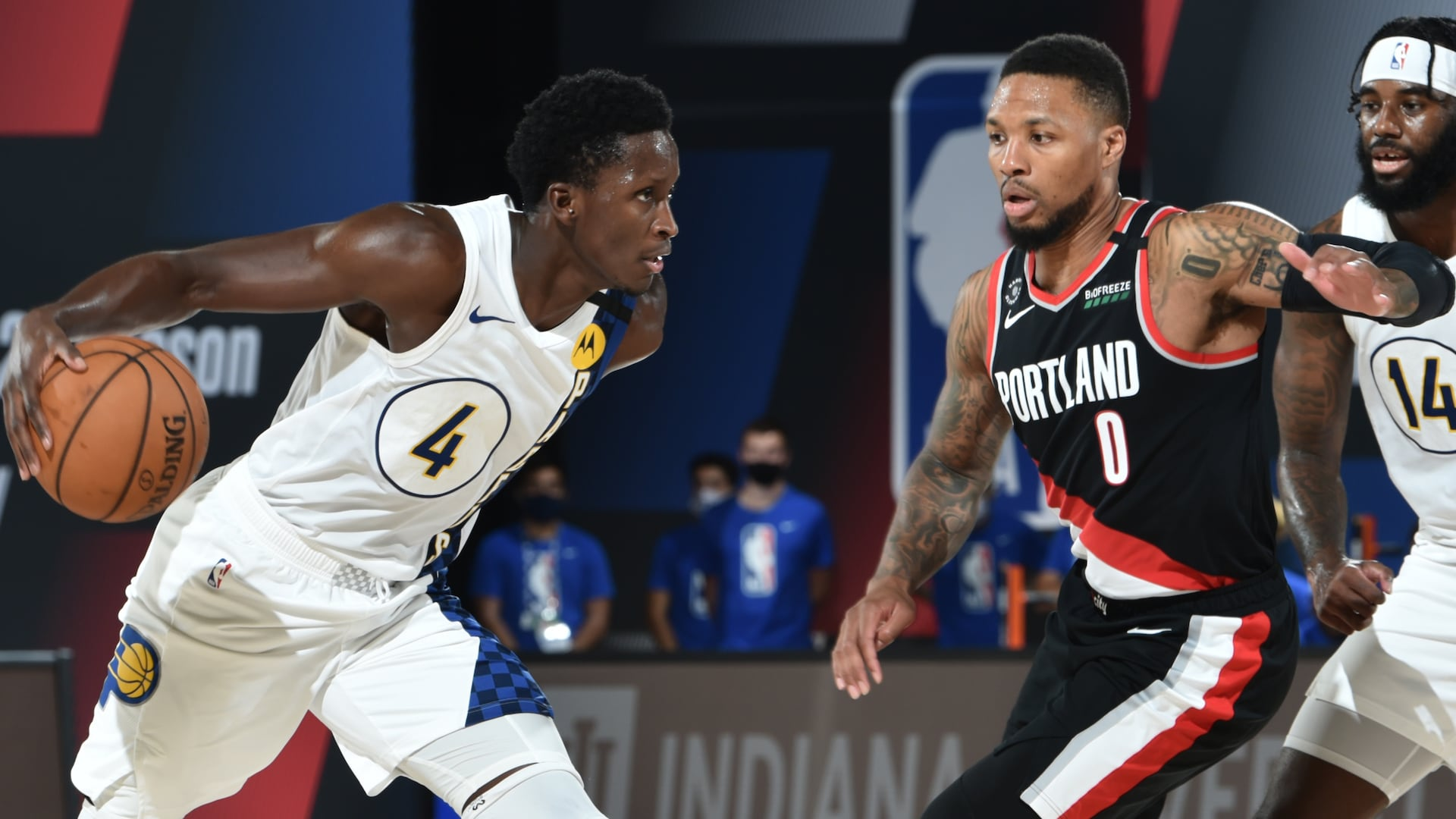 Victor Oladipo starts in Pacers' scrimmage vs. Blazers