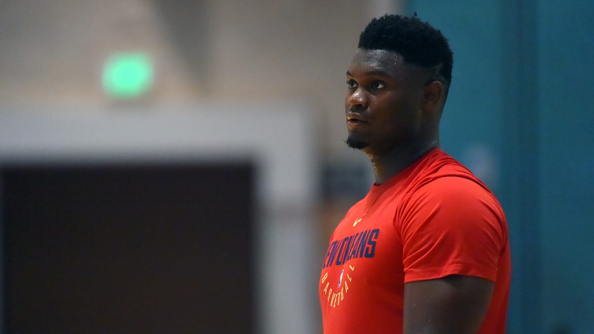 Zion Williamson leaves NBA campus to tend to urgent family matter
