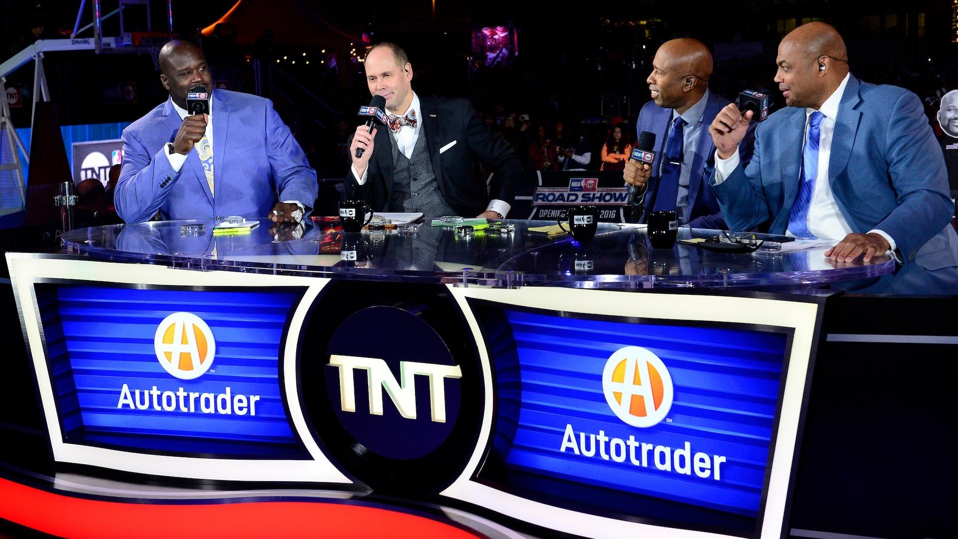 'Inside The NBA' studio shows return starting on July 7