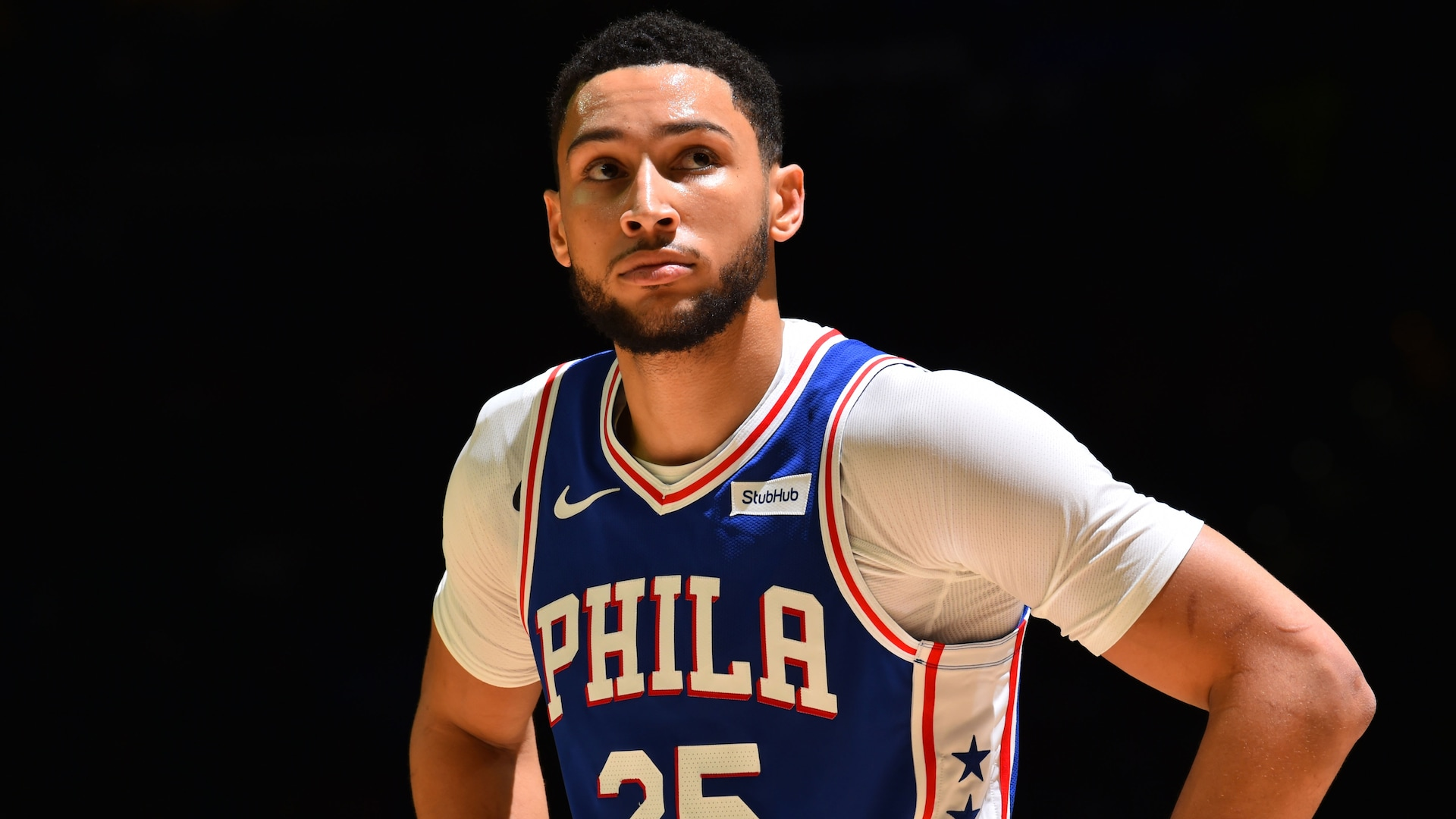 Ben Simmons recovered from back injury for restart